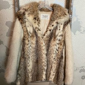 Albert Furs Lynx coat Excellent condition 2 in 1